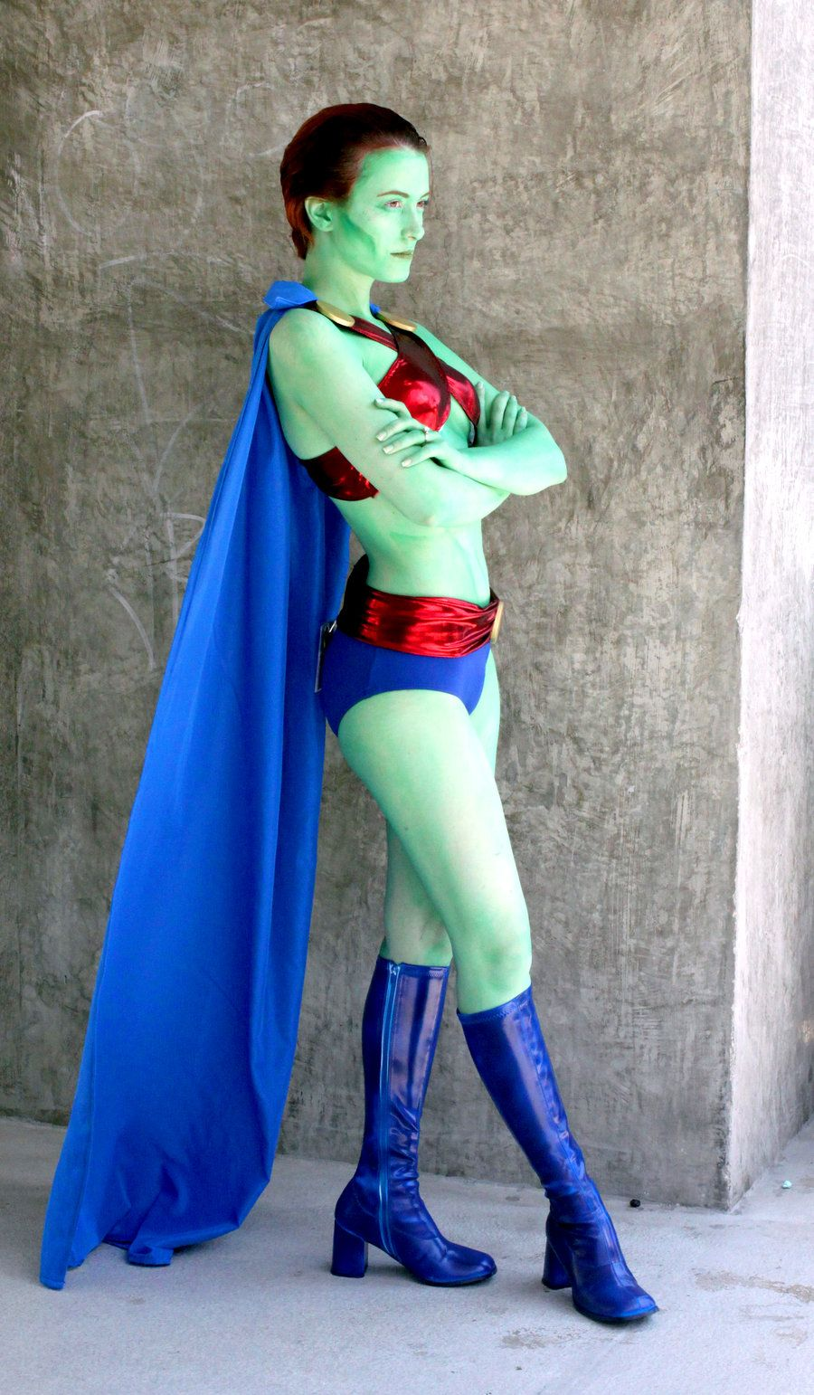Martian ManEater / Rule 63 Martian Manhunter Cosplay by