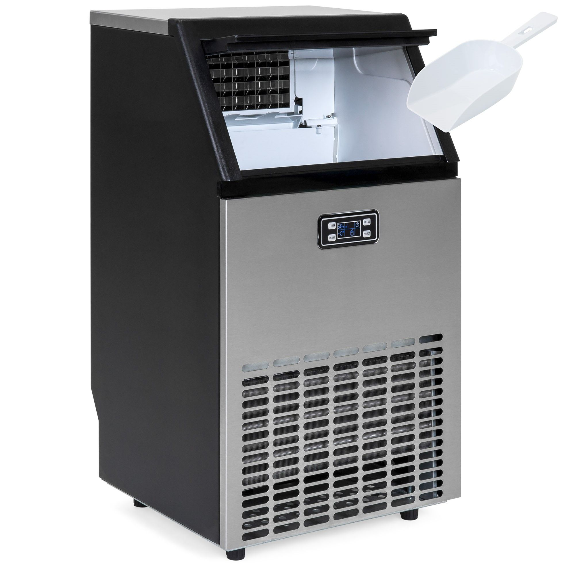 Della Commercial Ice Maker Freestand Ice Cube Icemaker