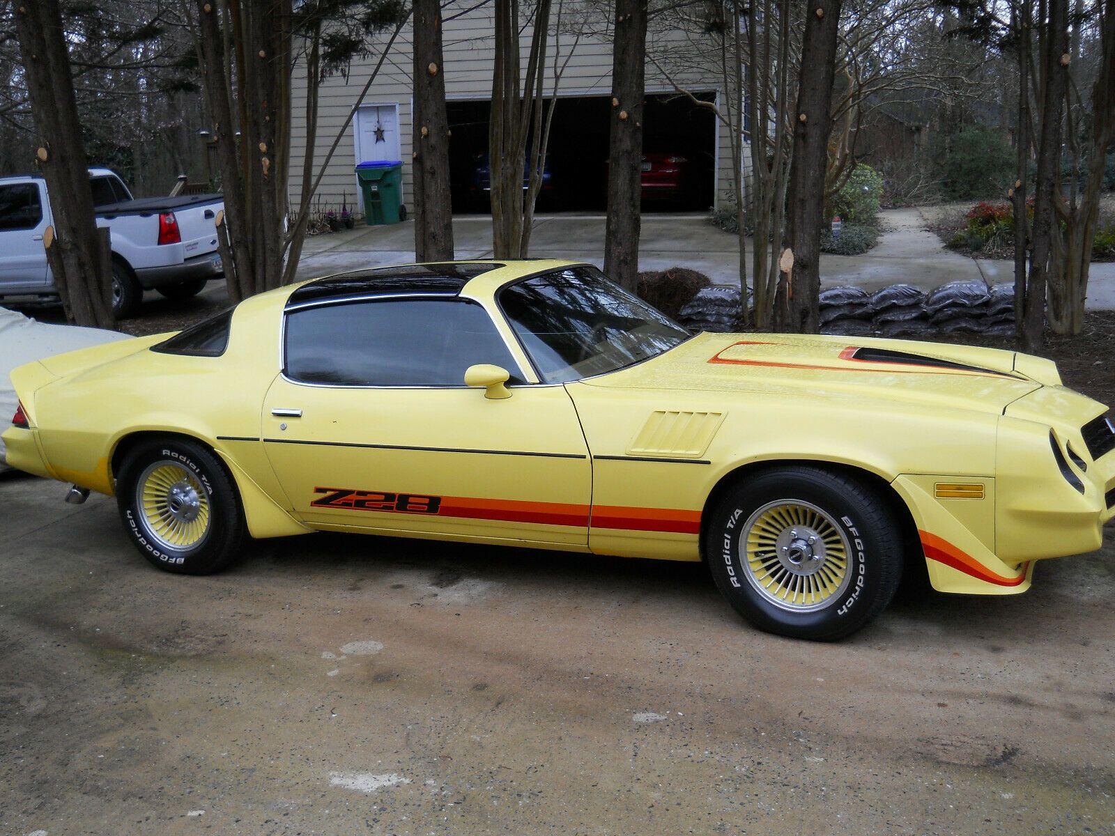 1979 Chevrolet Camaro Z28 T Tops Price Us 15 000 Chevrolet