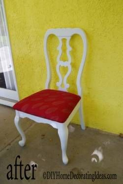 recover dining chairs after