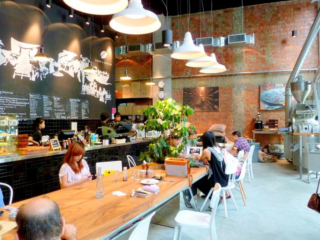 Lighting Cafe Singapore Estates