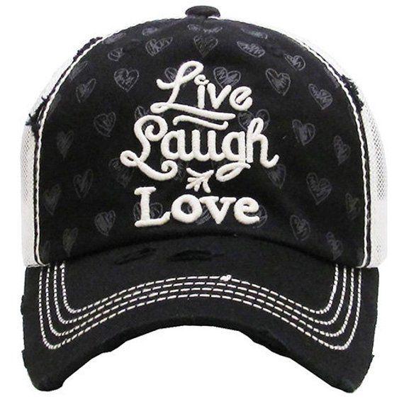 39e607e316d New KBETHOS  Live Laugh Love  hat