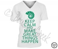 Kappa Delta Keep Calm Tee -ΚΔ Collection. Design Exclusive to BoutiqueGreek.com