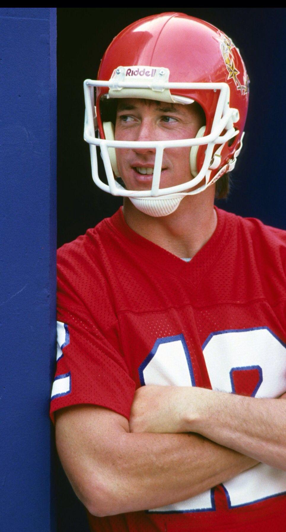816c3f227d1 Jim Kelly - New Jersey Generals | USFL | Football, Nfl football ...