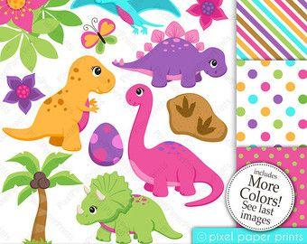 Rainforest animals set de clip art y papeles digitales katu dinosaurios para ni os - Paperboy dinosaur wallpaper ...