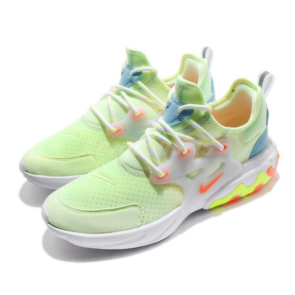 d5ba8df8c4ea0 eBay #Sponsored Nike React Presto GS Barely Volt Hyper Crimson Kid Youth  Women Shoes BQ4002-700