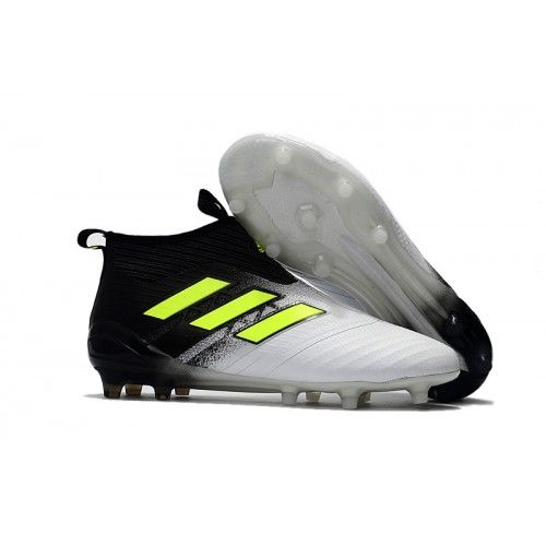 on sale dd54a 65b9f 2017 Adidas ACE 17 PureControl FG Football Boots White Black
