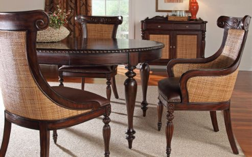 For the kitchen table | Colonial furniture, Tropical ...