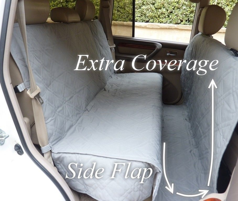 Pet Seat Cover For Pets In Grey Supplies Dog Car Covers