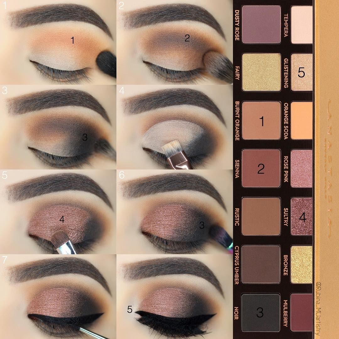 SULTRY 😻 One of the most beautiful shadow in the palette
