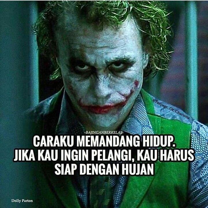 Pin Oleh Jojoba Di Kata Kata Quetos Motivasi Joker Kata Kata Indah