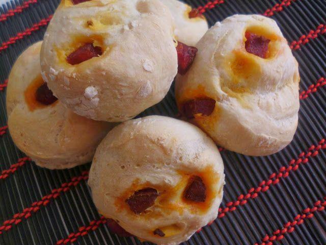 Acção na Cozinha: Mini Pães com Chouriço