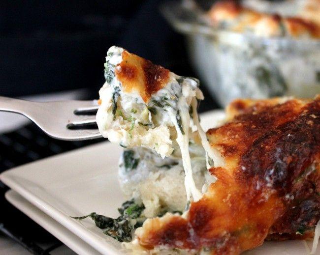 ~Spinach & Artichoke Bubble Bake!   Oh Bite It
