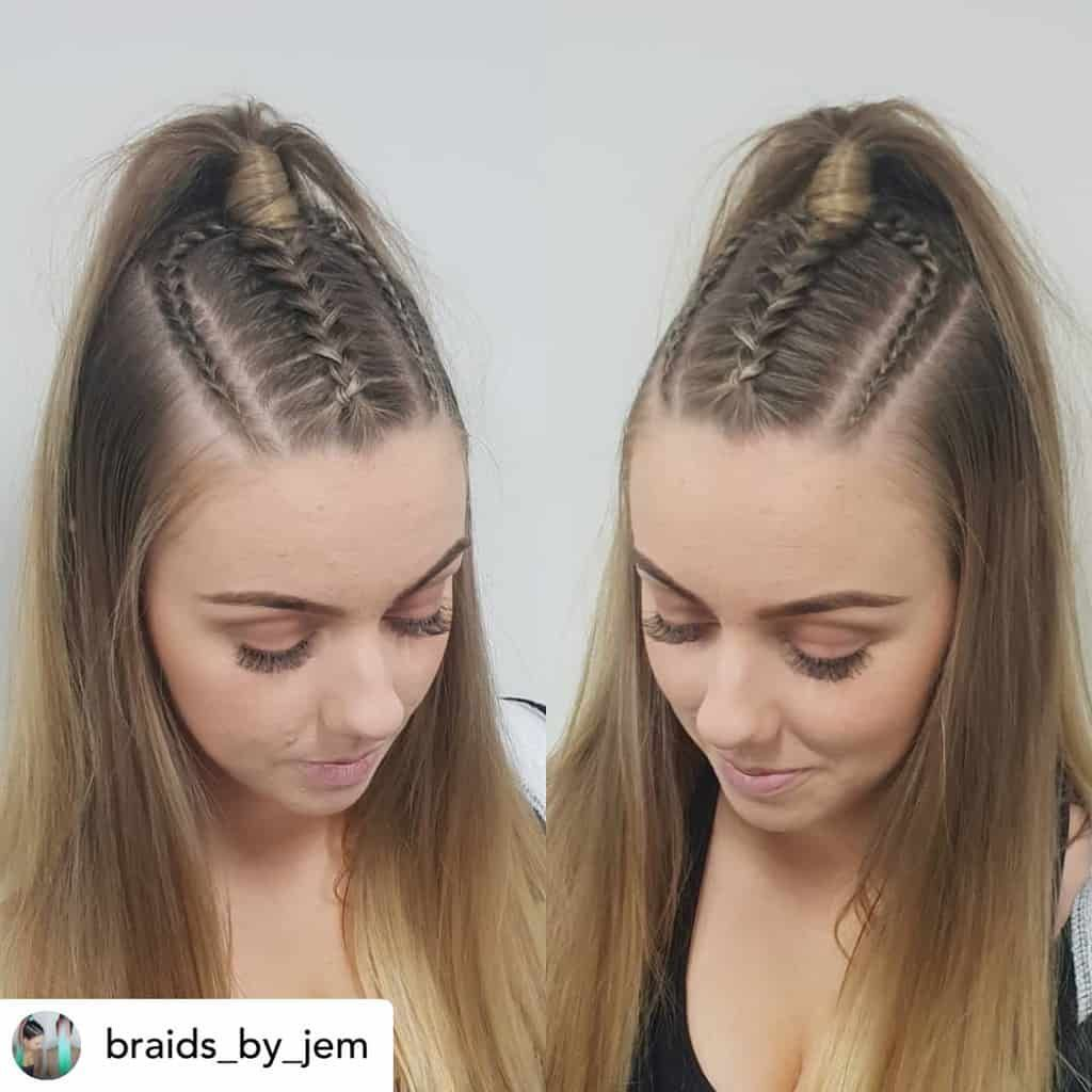 10 ridiculously simple hairstyles for school 2020 (tutorials included) – do you want the perfect new back-to-school hairstyle? Top braids are the … - Lombn Sites