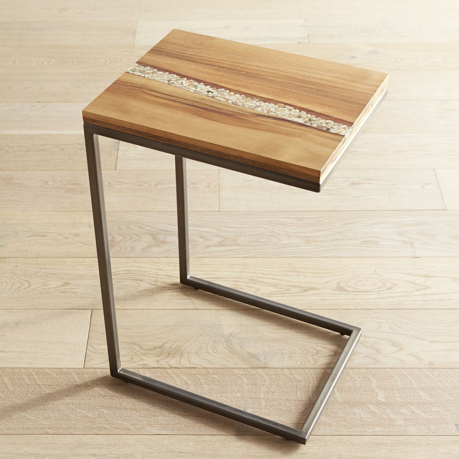 River Rock C Table C Table Table Metal Furniture