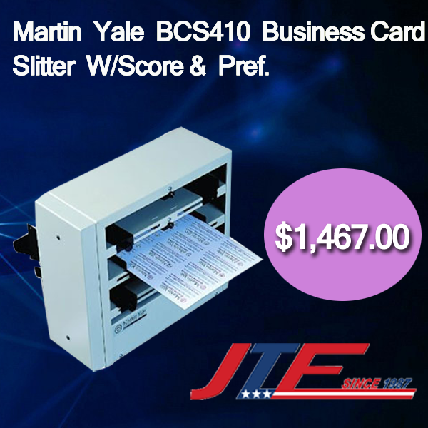 Martin yale bcs410 business card slitter comes with extra martin yale bcs410 business card slitter comes with extra functioning and style that offers an colourmoves