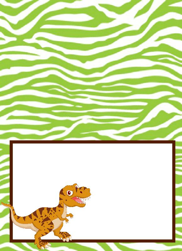 Dinosaur Party Food Labels Free Printable Jacobs Party