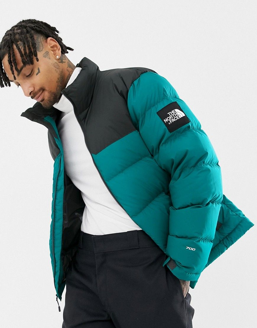 95619a4d2 THE NORTH FACE 1992 NUPTSE JACKET IN EVERGLADE GREEN - GREEN ...