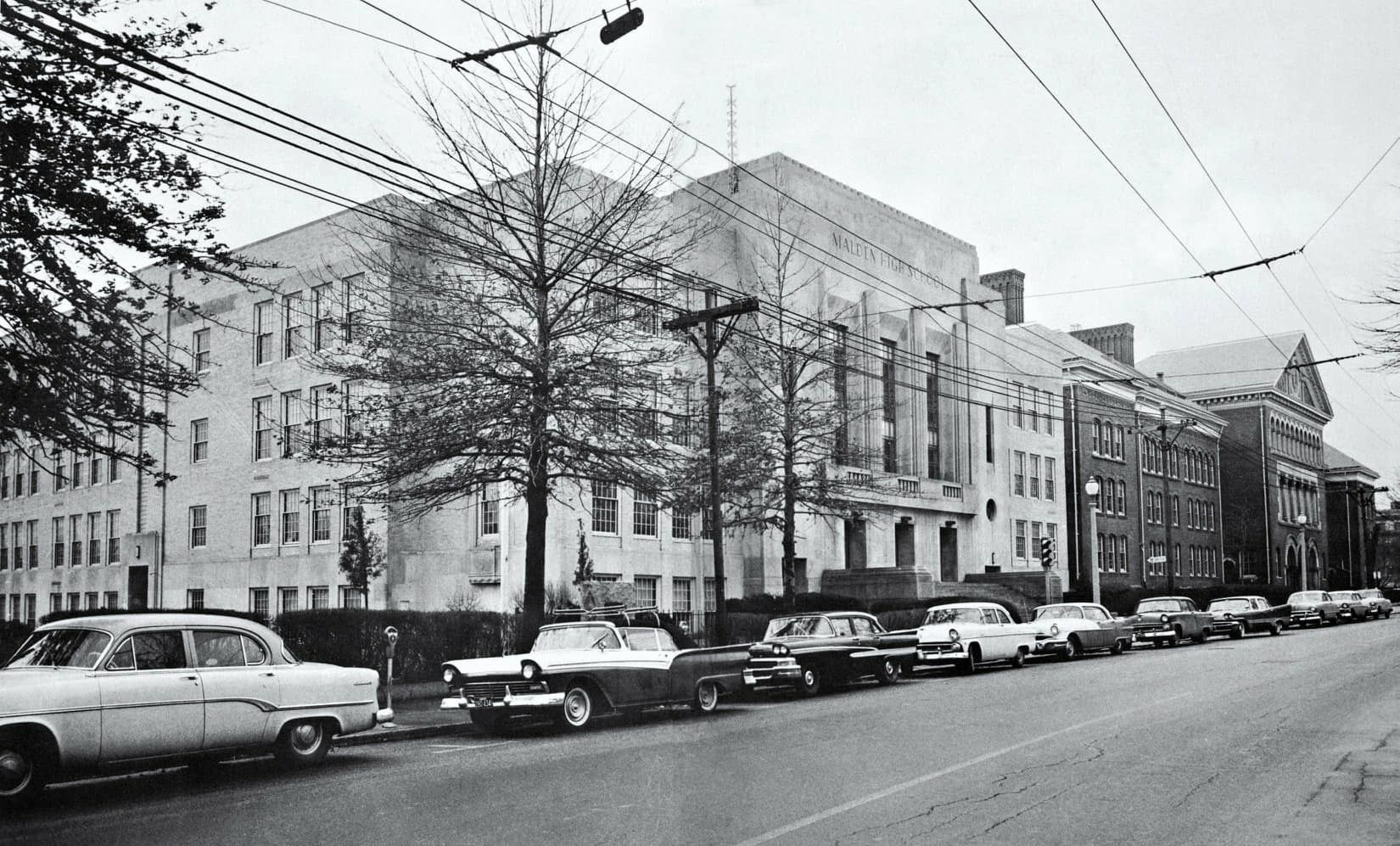 Malden High School 1950 S Malden Childhood Memories Scenes