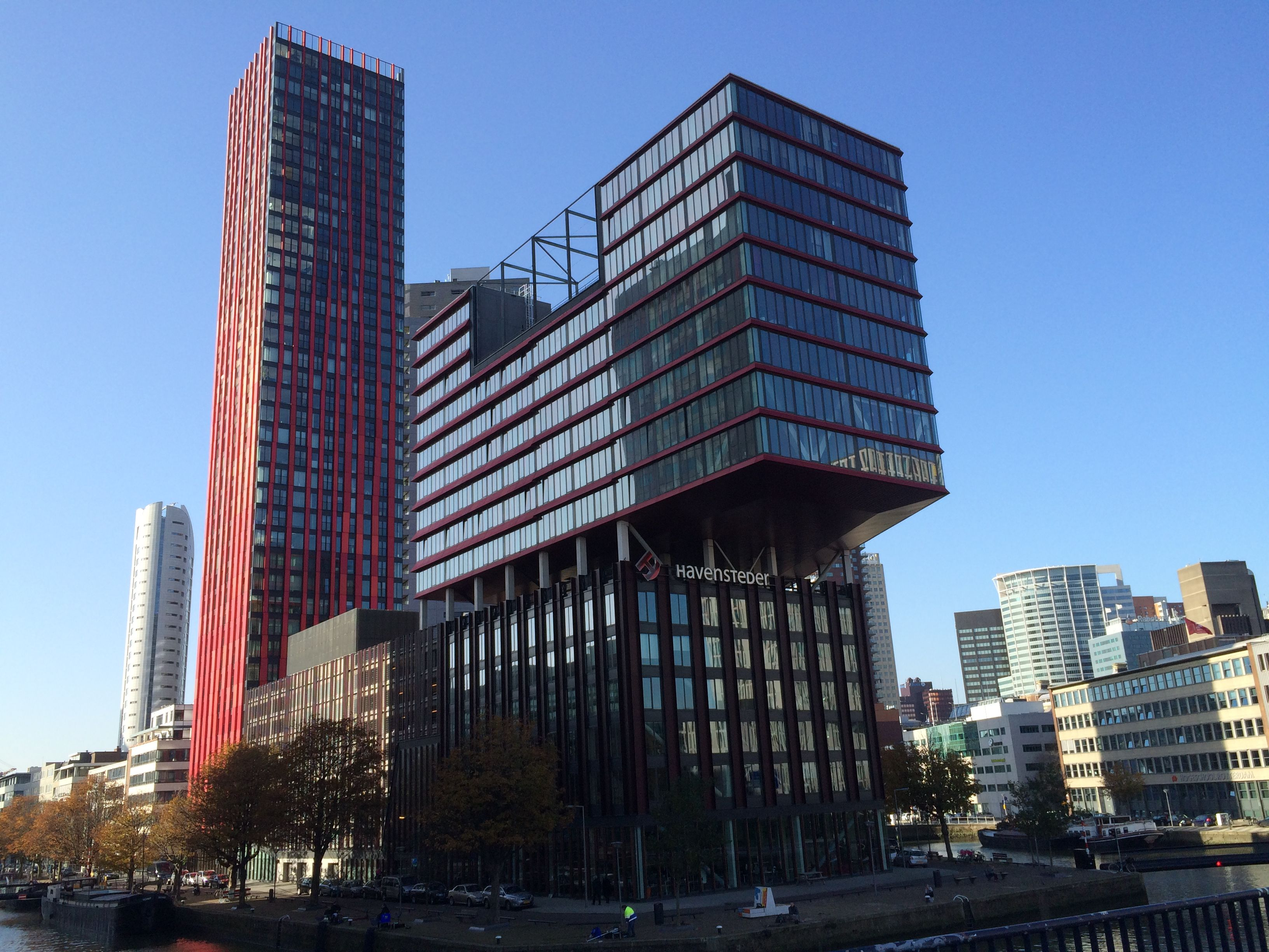 Erasmus University Campus Rotterdam - Erasmus University Rotterdam Main Building