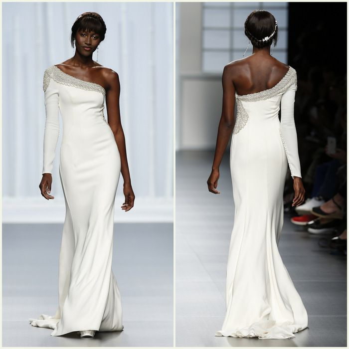 Rosa clará Barcelona bridal fashion week 20166