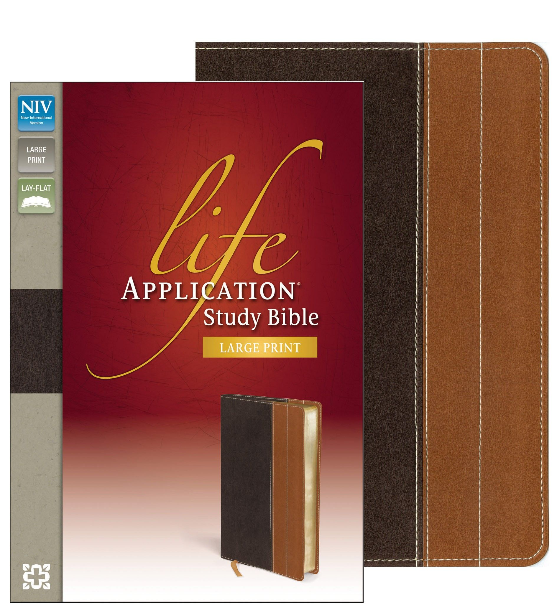 """[""""The NIV Life Application® Study Bible was created for"""