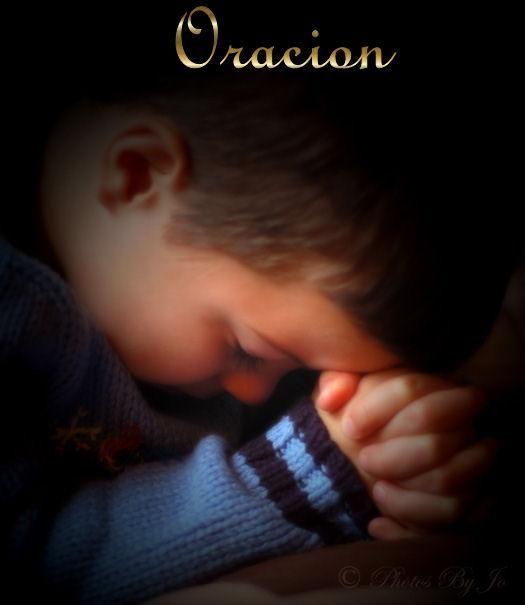 Oración por los abuelos Children praying Prayers for