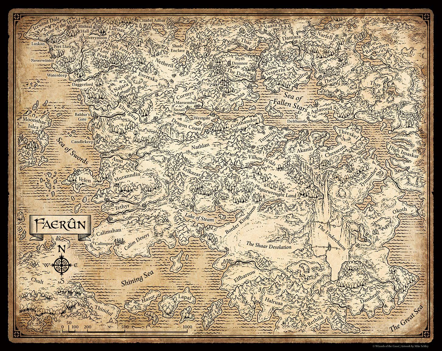 Dragons In Skyrim Map on