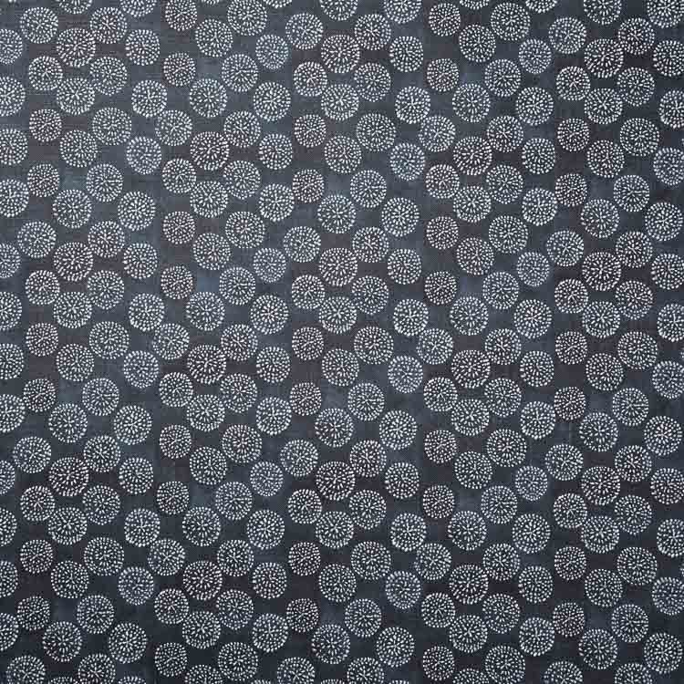 Dotted Floral Fabric in Navy Floral fabric, Rebecca
