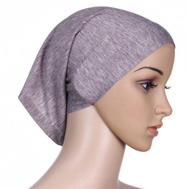 2bf62f99cfe Muslim hijab short Islamic hijab Islamic abaya dubai kaftan wholesale  turkish women tube inner cap WL3432-1