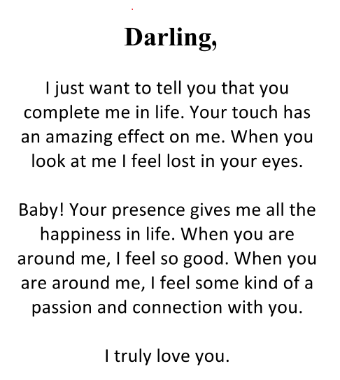 Love Letter From Him To Her from i.pinimg.com
