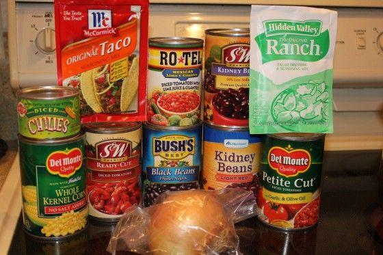 Zesty Taco Soup Recipe