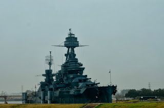 San Juan Battleground Historic Site, home for the Battleship Texas