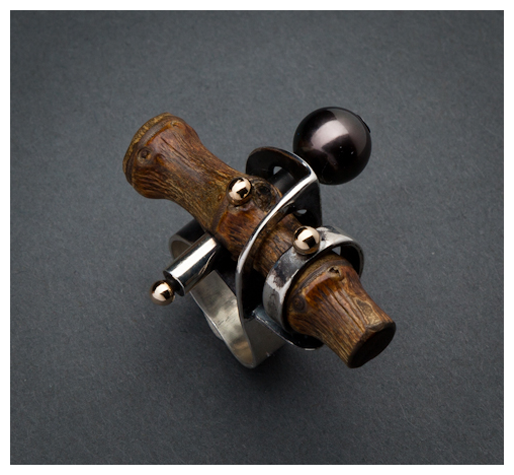 Ring    Fred and Janis Tate.  From their Bamboo collection