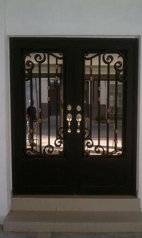 Puerta De Forja Antigua 101 Puertas De Entrada Puertas Principales De Aluminio Puertas De Metal