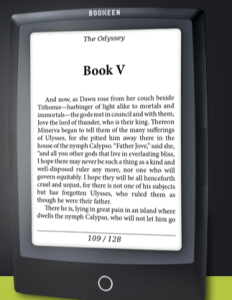 La Voce dei Librai : News – Nuovi ereader da Bookeen #CybookOcean #CybookOdysseyFrontLight (Italian language)