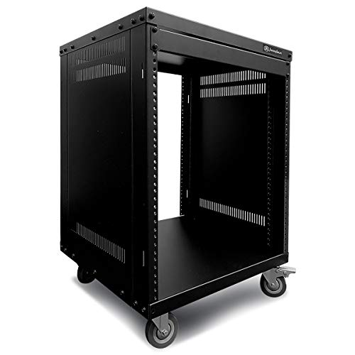 Axcessables Rk 12u Equipment Rolling Cabinet Rack Stand In 2020 Equipment Storage Studio Equipment Locker Storage