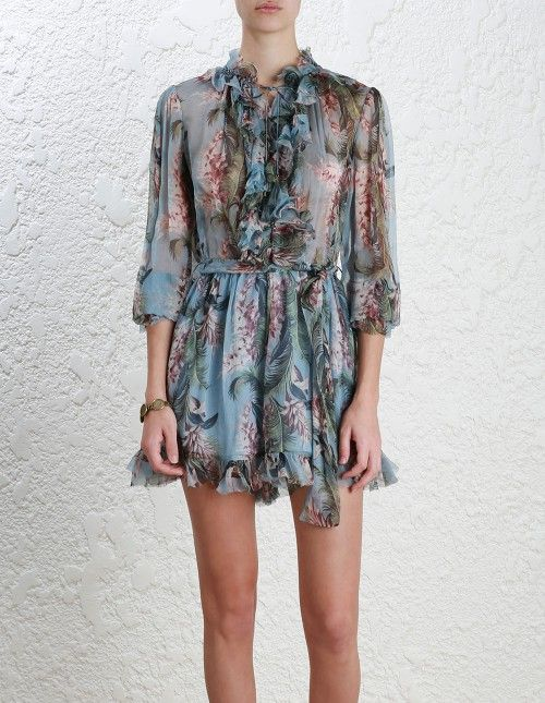 a066e673348 The Zimmerman  winsome  ruffle playsuit.