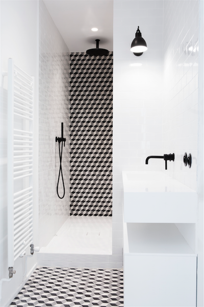 miniature r novation d 39 un duplex dans le 16e arrondissement de paris paris nancy geernaert. Black Bedroom Furniture Sets. Home Design Ideas