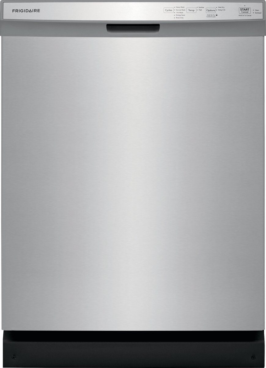 Frigidaire Dishwasher With Sanitize Cycle Stainless Steel
