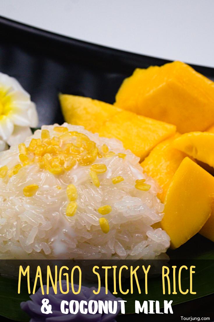 Easy Mango Sticky Rice Recipe - Authentic Mango with Sticky Rice & Coconut Milk