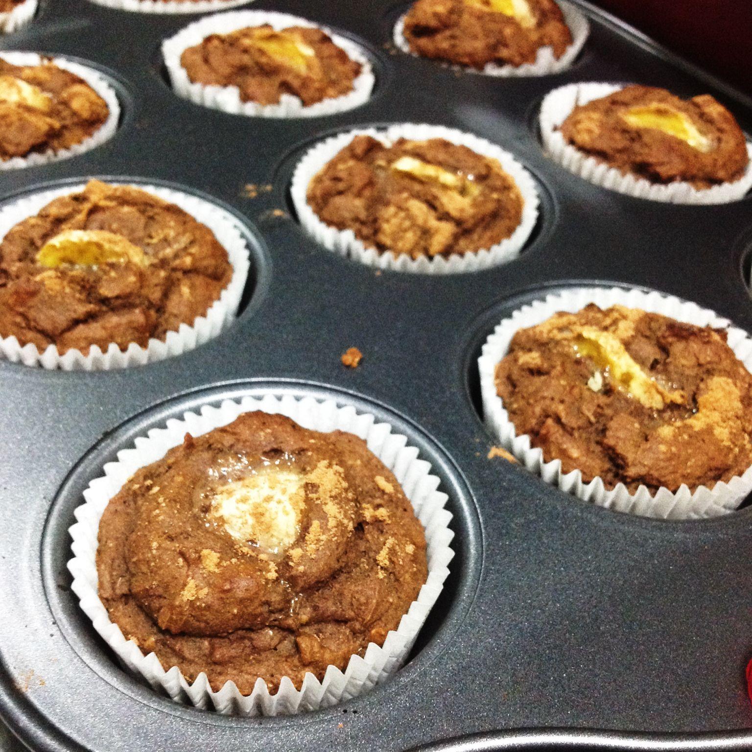 Cupcakes Proteicos De Batata Doce Receita Ideias Receitas E
