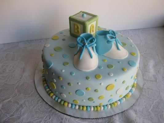 another baby shower cake this one