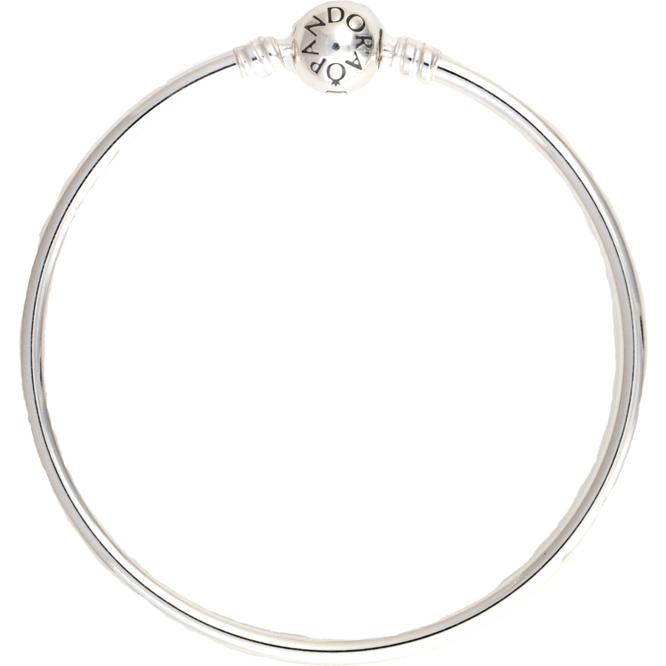 PANDORA bangle_bracelet, Bangle_Charm_Bracelet, Silver bangle charm bracelet, - Pandora Mall of America, MN