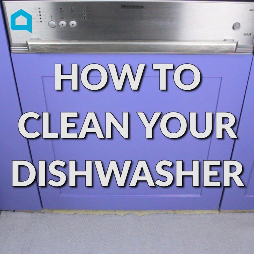 how to clean your dishwasher with bleach