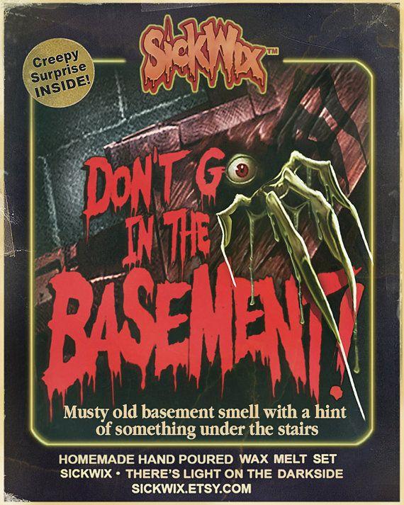 Musty Basement Scented Wax Melt Set, Musty Basement Candle