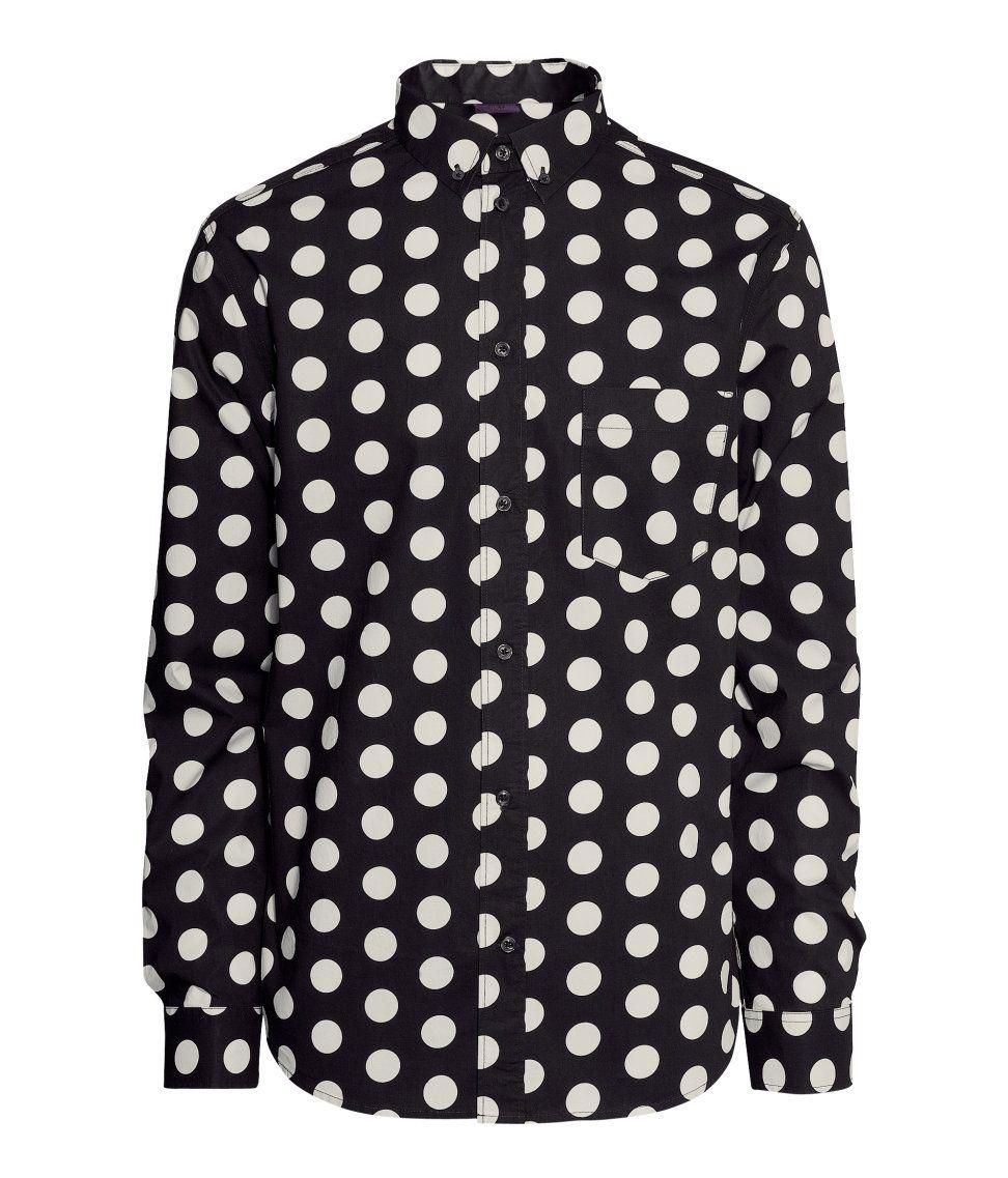H&M - Polka Dot Shirt, S$80 | Men's Fashion | Pinterest | Polka ...