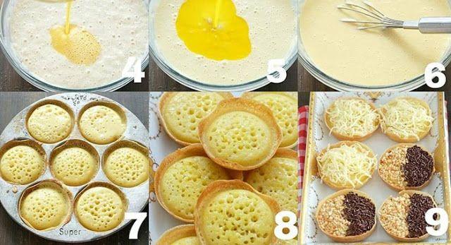Resep Martabak Manis Mini Yang Nikmat Sekali Resep Makanan Penutup Resep Makanan Enak