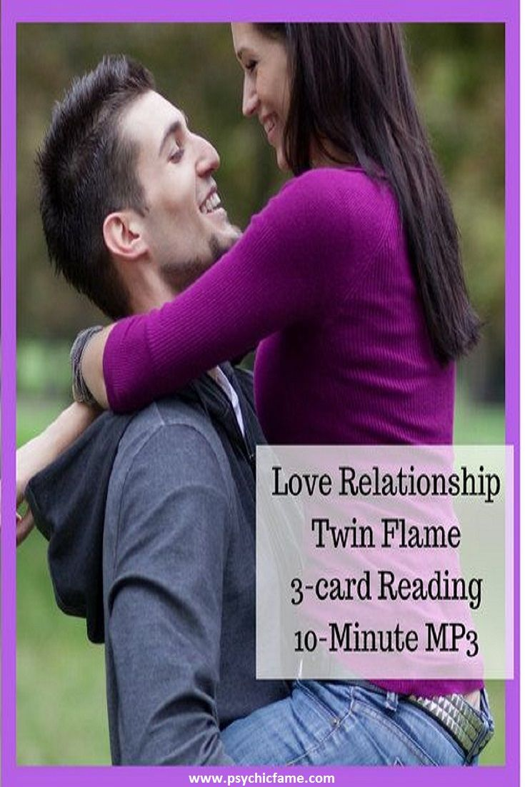 Love relationship twin flame love tarot reading card
