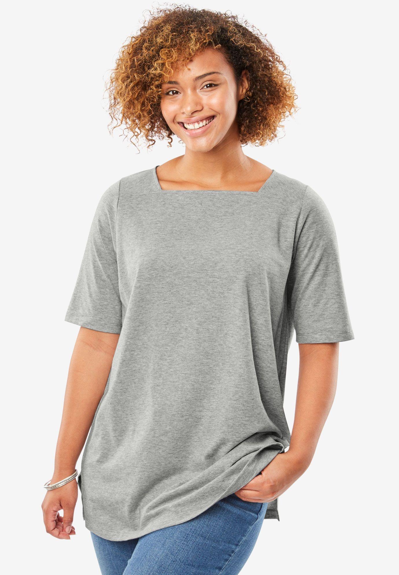a2e88eb66ffd8 Perfect square neck tee shirt